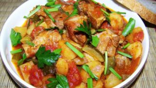 Азу по татарски - пошаговый фото рецепт