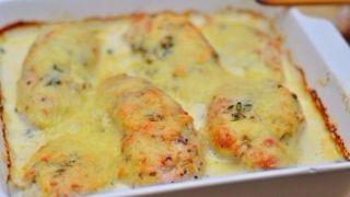 Куриное филе в сливочном соусе - пошаговый фото рецепт