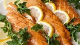 Медово-лимонные куриные грудки - пошаговый фото рецепт